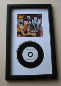 David Bowie - Diamond Dogs CD Disc presentation